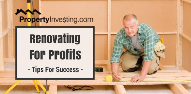 Renovations & Rehab For Profits