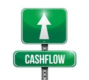 positive cash flow