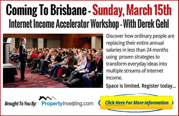 Free Brisbane Workshop - Click here to register