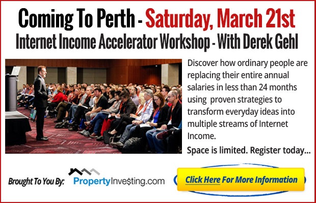 Free Perth Workshop - Click here to register