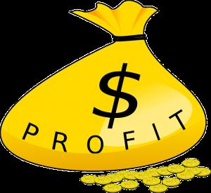 profits flow