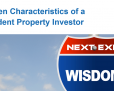 7 Characteristics of a Prudent Property Investor