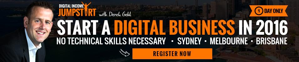 Free Digital Income Jumpstart Seminar - Book now!
