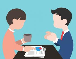 negotiations between the buyer and seller