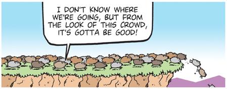 following-crowd