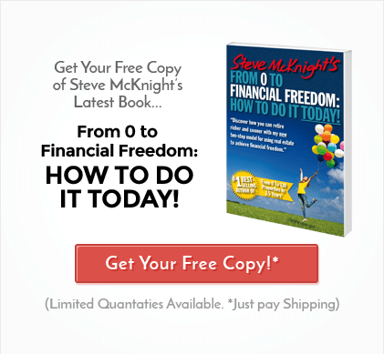 From 0 To Financial Freedom - Get Your Free Copy of Steve McKnight's Latest Book!