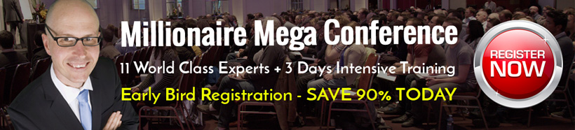 2017 Millionaire Mega Conference Earlybird Special
