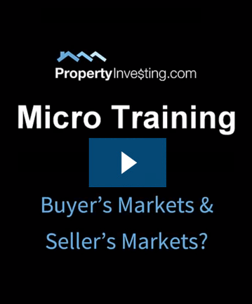 Micro Training #2 - Buyer's And Seller's Markets