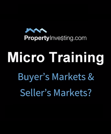 Microtraining #2 - Buyer's & Seller's Markets